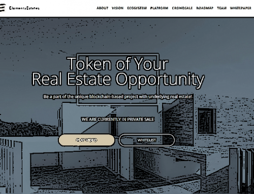 Blockchain welcomes real estate project